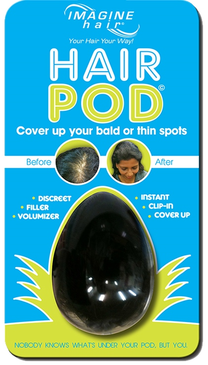 Hair Pod front without hanger